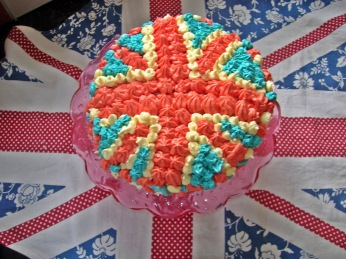 Jubilee Strawberry and Clotted Cream Cake